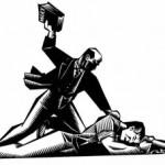 تضاد فکری باکونین و مارکس