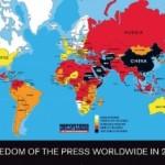 ردهبندی جهانی آزادی مطبوعات؛ ایران همچنان در ته جدول