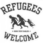 آکسیونی با نمایش فیلم و تئاتردرمرکز شهر گوتینگن در حمایت از پناهجویان