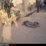 نقدی بر ویدئوی رفتار غیرانسانی بخشی از نظامیان با تروریستها و جنایتکاران داعشی اسیر شده