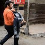 ۳ ویدئو از شیماء الصباغ (ندای مصر ) که با اصابت گلولهای پلاستیکی به صورت جان باخت