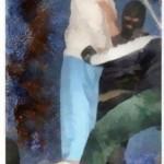 کارتونی در اعتراض به اعدام نوجوانان در جمهوری اسلامی