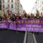 چهارمین راهپیمایی جهانی زنان برای آزادی و برابری