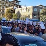 بازداشت ۱۲ تن در تظاهرات مسالمت آمیز سردشت