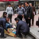 تعرض گسترده به دستفروشان تهرانی