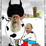 کارتون: رابطۀ شیری-قرآنی آغا با پوتین