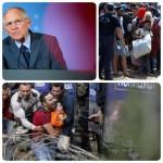 تشبیه وزیر دارایی آلمان در مورد پناهجویان انتقادبرانگیز شد