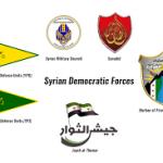 ۱۵ نیروی نظامی دیگر به «نیروهای سوریه دموکراتیک» پیوستند که خود از ۱۳ گروه نظامی تشکیل شده است