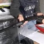 """کشف ۷۸۱ قبضه تفنگ """"وینچستر اس ایکس پی """" از مبدا ترکیه به مقصد بلژیک در کامیونی در ایتالیا"""