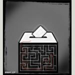 کارتون :بن بست انتخابات
