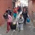 شهر کردنشین جزیره زیر آتش سنگین تانک های ارتش ترکیه
