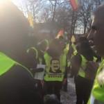 فراخوان به تظاهرات فردا یکشنبه در اعتراض به حمله مسلحانه ارودغانیست ها قبل از آغاز تظاهرات امروز شنبه در سوئد