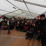 پنجمین روز تحصن کردهای استراسبورگ فرانسه در اعتراض به سکوت اروپا در قبال حملات دولت ترکیه به شمال کردستان