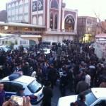 انفجار در بازار تهران ( پاساژ سه طبقه طلا قیصریه) با ۳۹ مجروح که حال ۱۲ نفر وخیم گزارش شده است
