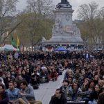 فراخوان جنبش ایستاده در شب فرانسه برای برگزاری تظاهرات جهانی در روز یکشنبه ۱۵ ماه مه