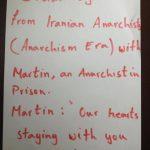 فراخوان جهت همبستگى با آنارشیست زندانى سیاسی در جمهورى چک که در اعتصاب غذا به سر میبرد
