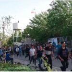 ویدئو تجمع دوم جوانان و نوجوانان در پارک آب و آتش که توسط ماموران به خشونت کشیده شد