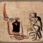 کاریکاتور: کودکان و خطرات اینترنت