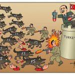 میلیتاریسم اسلامیست اردوغان و اشغال نظامی سوریه