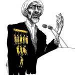 ایشان! به کشتار هزاران زندانی سیاسی دگراندیش و بی دفاع افتخار می کند!