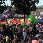 عکسهای تجمع بزرگ ۳۰ هزار نفری امروز کرد ها در کلن آلمان علیه دیکتاتوری حزب عدالت و توسعه و حمله نظامی به روژاوا