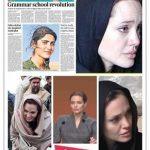 نه ، انجلینا جولی هیچ شباهتی به آسیه رمضان (ویان انتریکی) ندارد