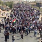 اعتراض های گسترده در اقلیم کُردستان