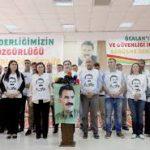 ۴ ویدئو از اعتصاب غذا ی نامحدود فعالین کرد در ترکیه و تظاهرات مردم روژاوا در اعتراض بهایزوله کردن عبدالله اوجالان در زندان امرالی