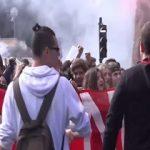 تظاهرات ده ها هزار نفر از دانش آموزان ایتالیایی در اعتراض به اجرای اصلاحات آموزشی