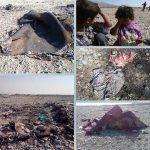 عوامل حکومتی چادر کودکان بلوچ را بیرحمانه آتش می زنند تا ظاهر شهر را زیبا کنند