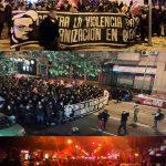 ویدئو لحظه کشته شدن کارلوس پالومینو ( #CarlosPalomino) توسط یک نئو نازی در مترو مادرید و ویدئو تظاهرات ضد فاشیستی در نهمین سالگرد