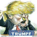 ظهور ترامپ از باگ بزرگ دمکراسی لیبرال!!