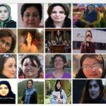آمار وارقام زنان زندانی سیاسی درزندانهای مختلف ایران (سال٩۵)