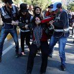 درگیری حامیان حزب دموکراتیک خلق ها با پلیس در چندین شهر ترکیه
