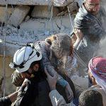 ویدئو درخواست کمک لینا شامی از حلب : به تمامی کسانی که من را میشنوند، ما در  شرق حلب در مقابل یک نسلکشی قرار داریم