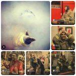 أیا این چهره های  دردمند ِ« کارگران آتش نشانی»  بغض و گریه شان،نشانه اَی از انفجار جامعه  مردم جان به لب أمده است ؟ + عکس