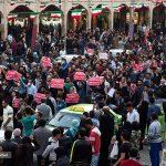 ویدئو ها و تصاویر تجمع و راهپیمایی مردم اهواز در اعتراض به قطع آب ، برق و ریزگردها در ۲ روز متوالی