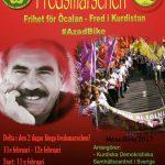 راهپیمایی بینالمللی با خواست آزادی عبدالله اوجالان و کردستان