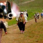 زخمی شدن یک کولبر کُرد با شلیک نظامیان در ثلاثباباجانی