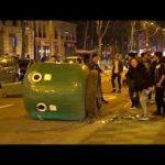 سومین شب تظاهرات چینی ها در پاریس در اعتراض به مرگ مشکوک یک مرد ۵۶ ساله توسط پلیس