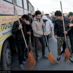 ۴۱ عکس از نیروهای سرکوبگر انتظامی هنگام تحقیر بازداشت شدگان چهارشنبه سوری مشهد