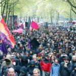 گزارش تظاهرات ده ها هزار نفری آنارشیستها و چپ ها علیه حزب راست افراطی «آلترناتیو برای آلمان» در کلن + عکس