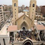 دست کم ۴۳ کشته و ۱۴۴ زخمی در پی سوءقصد تروریستی به دو کلیسای قبطیها در مصر