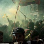 برخورد خشونت آمیز پلیس با دانشجویان معترض در شیلی+ ویدئو