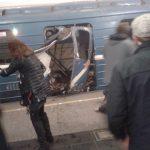 انفجار در متروی سنپترزبورگ دستکم ۱۰ کشته به جا گذاشت