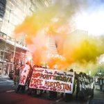 عکسهای تظاهرات مخالفان ترامپ در بروکسل