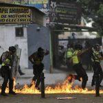 در اعتراضات خیابانی ونزوئلا تا کنون ۵۸ نفر کشته شده اند