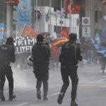 حداقل ۲۰۷ نفر در جریان سرکوب تظاهرات روز کارگر در استانبول بازداشت شدند