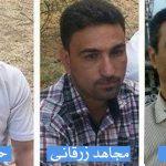 دادگاه انقلاب اهواز حکم سه سال حبس و تبعید براى ۳ فعال مدنى عرب صادر کرد + عکس
