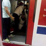 ده ها مجروح در تصادف شدید ۲ قطار مترو تهران در ایستگاه طرشت (تصاویر)